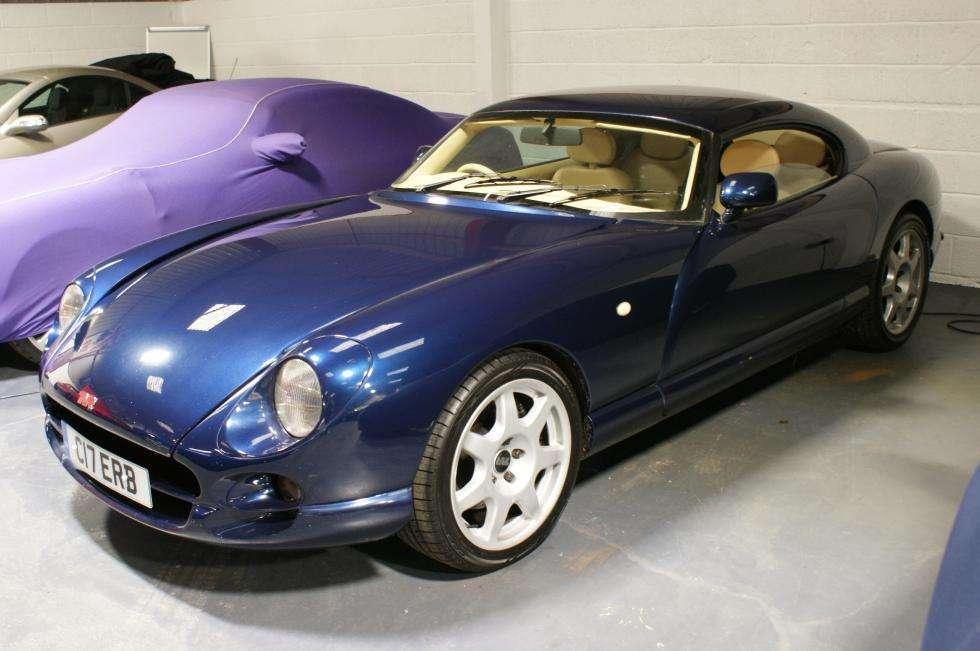Tvr Cerbera 42 In Pearl Blue Private Cerb Plate Amoreautos Ltd